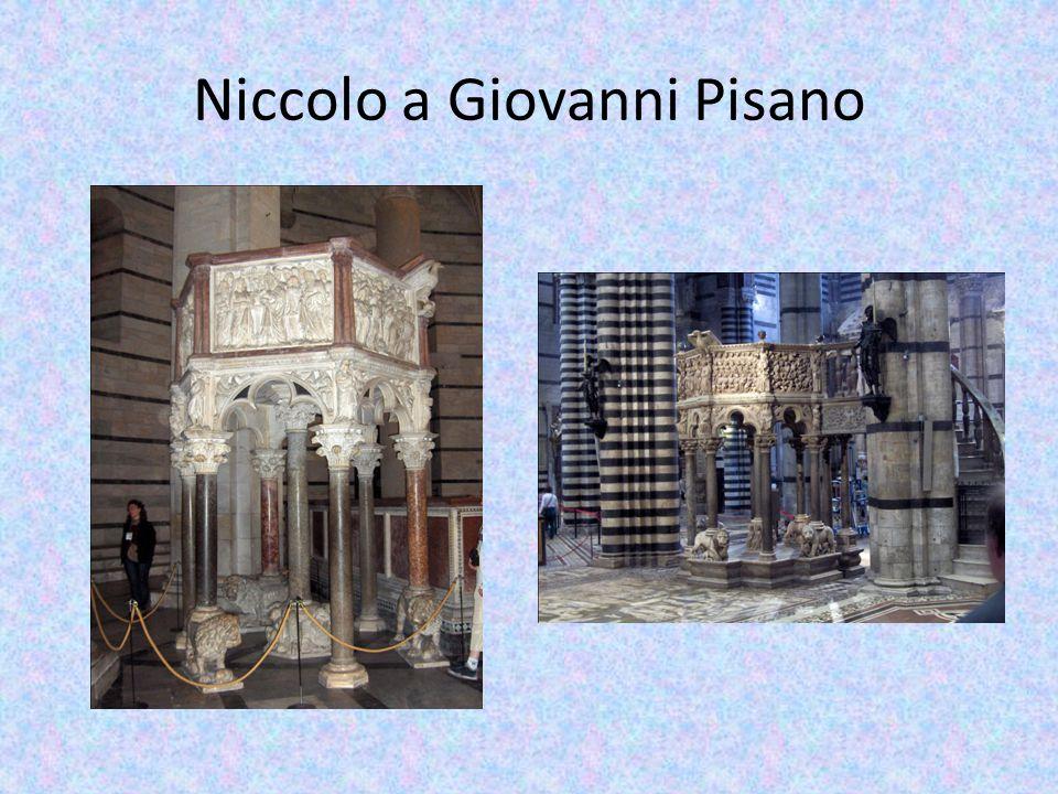Niccolo a Giovanni Pisano