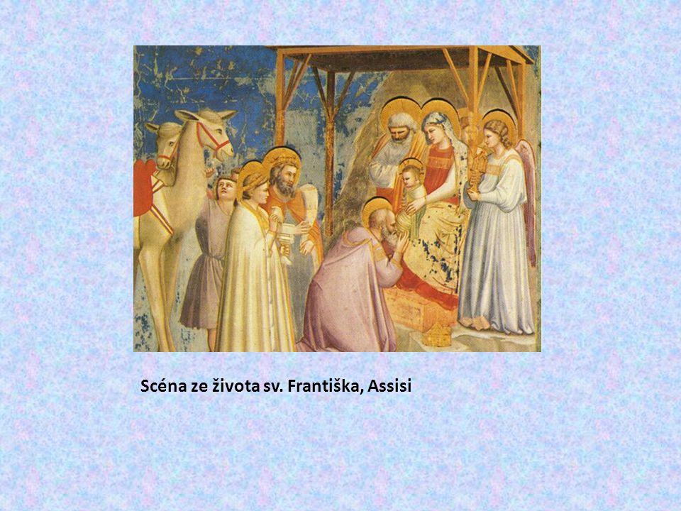 Scéna ze života sv. Františka, Assisi