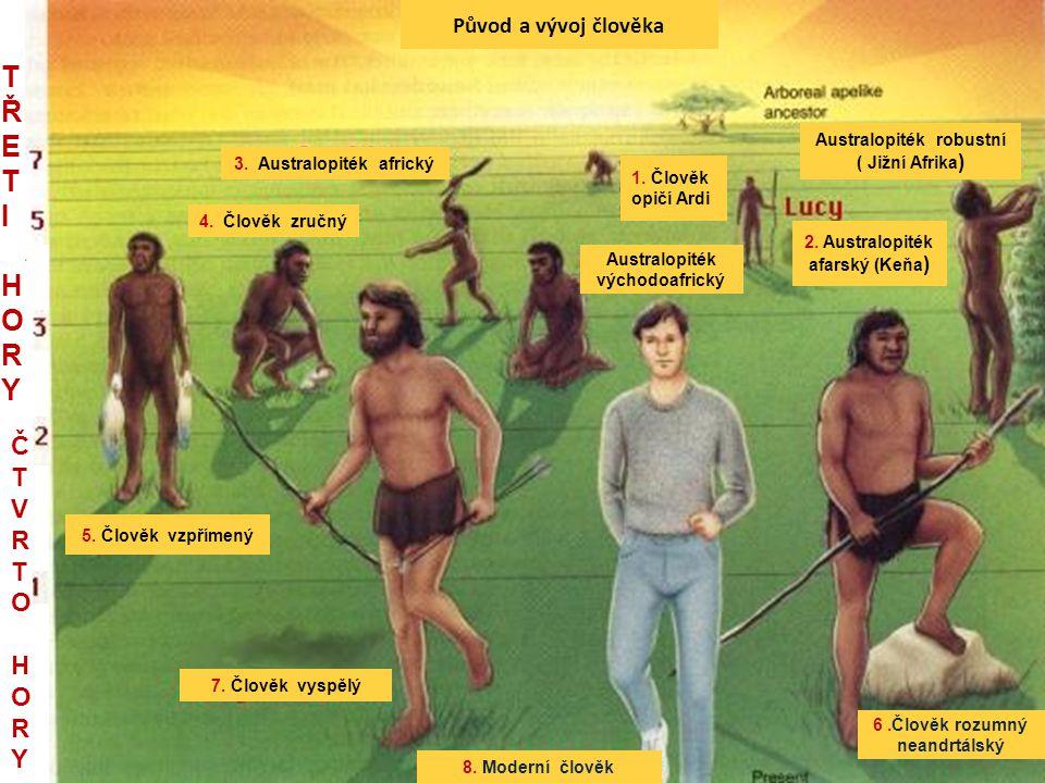 Původ a vývoj člověka 3.