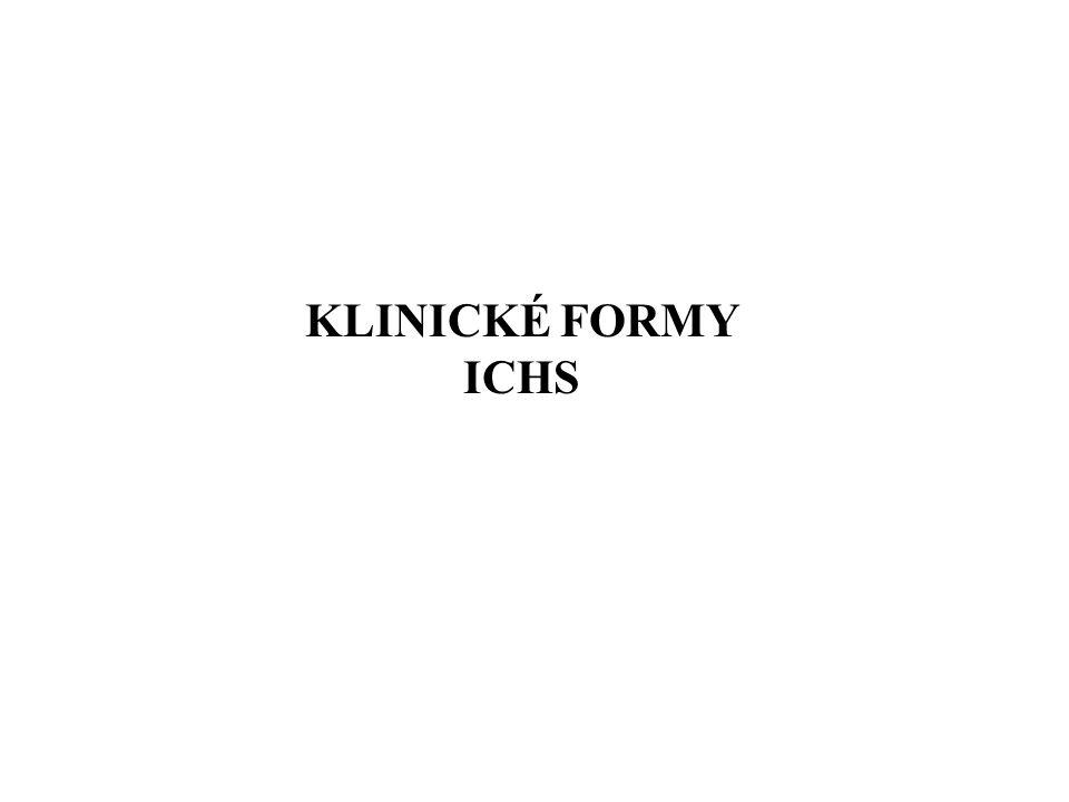 KLINICKÉ FORMY ICHS