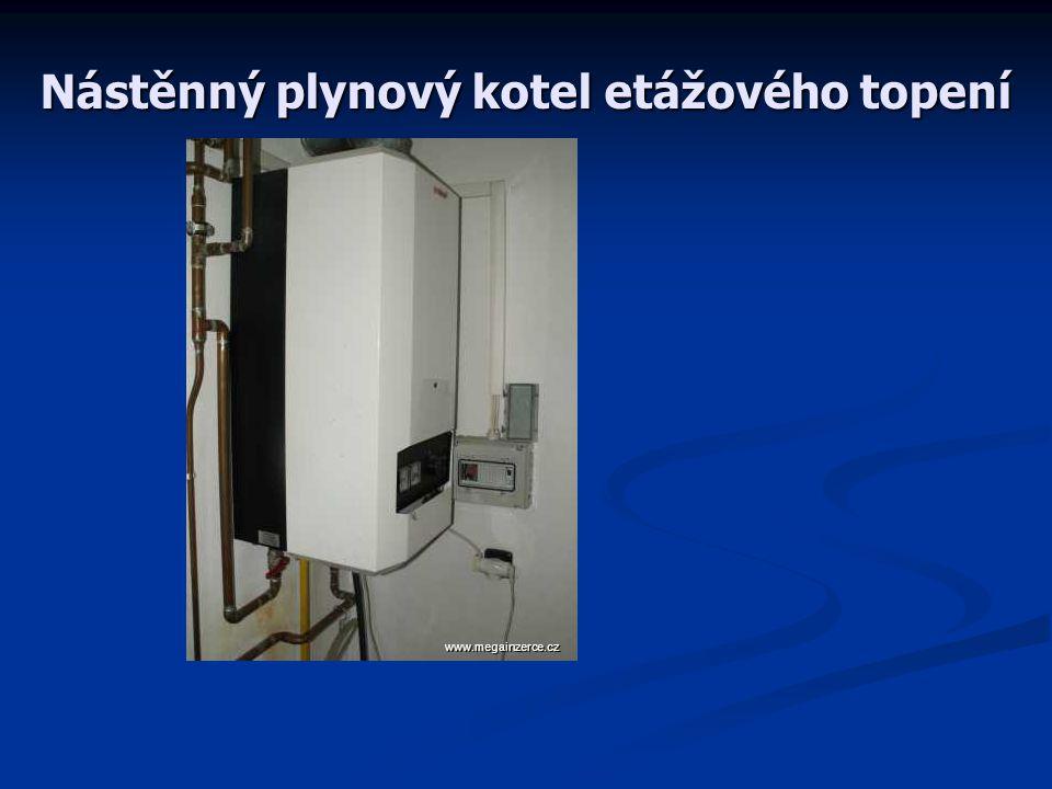 Nástěnný plynový kotel etážového topení www.megainzerce.cz