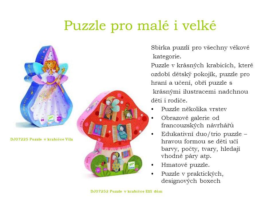 Puzzle pro malé i velké DJ08166 Duo puzzle Co bude dnes k obědu DJ07002 Co se děje během dne DJ07171 Obří puzzle Promenáda zvířat