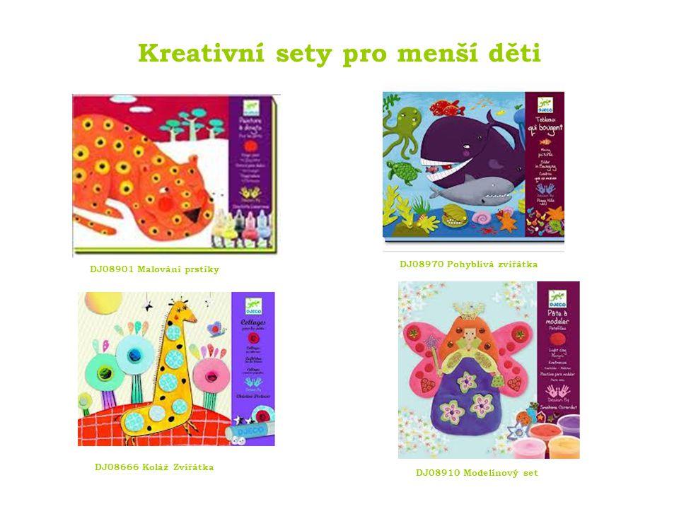 Kreativní sety pro starší děti Překrásné designové kousky pro děti od 6 let.