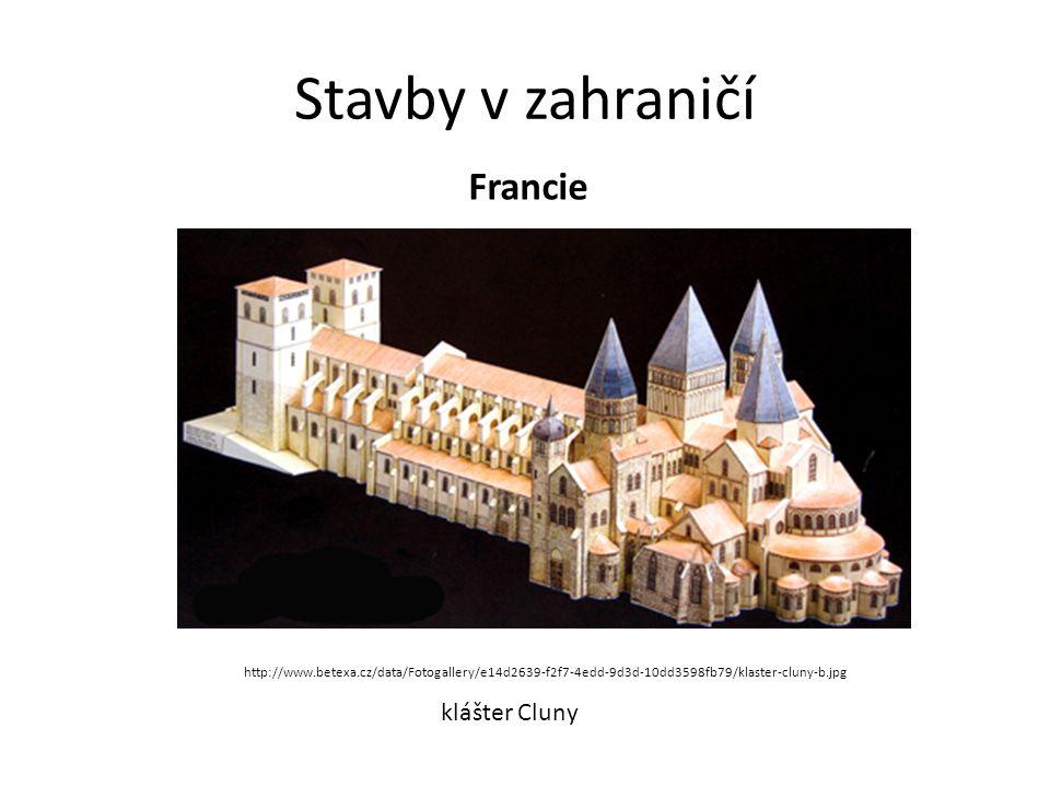 Stavby v zahraničí Francie klášter Cluny http://www.betexa.cz/data/Fotogallery/e14d2639-f2f7-4edd-9d3d-10dd3598fb79/klaster-cluny-b.jpg