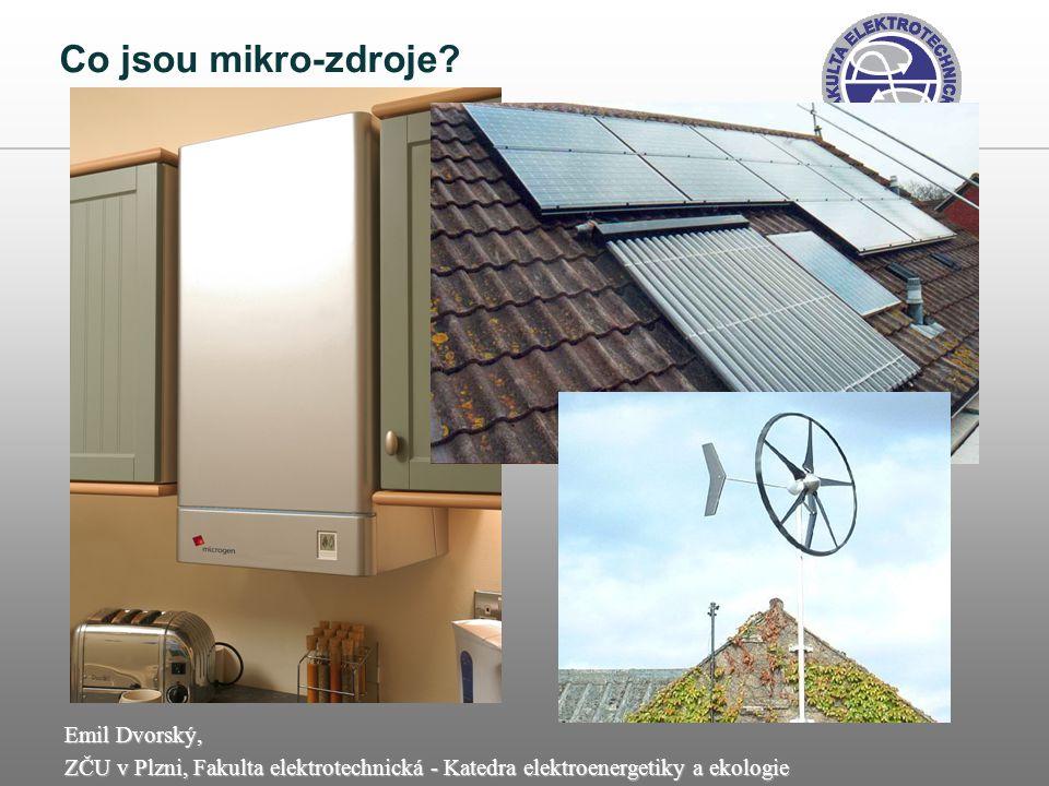 Emil Dvorský, ZČU v Plzni, Fakulta elektrotechnická - Katedra elektroenergetiky a ekologie Proč usilovat o domácí energetickou výrobu.