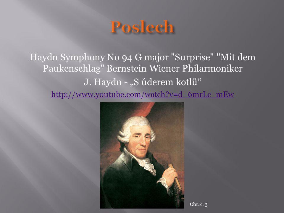 Haydn Symphony No 94 G major Surprise Mit dem Paukenschlag Bernstein Wiener Philarmoniker J.