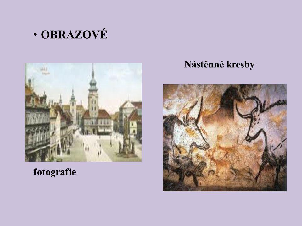 fotografie OBRAZOVÉ Nástěnné kresby