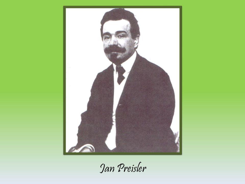 JAN PREISLER *17.2.1872 v Popovicích u Berouna †26.4.1918 v Praze Je jedním z nejvýznamnějších malířů 20.