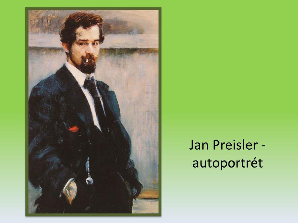Jan Preisler - autoportrét