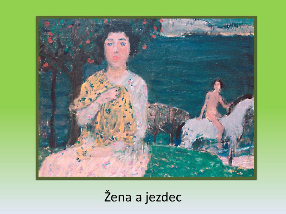 Žena a jezdec