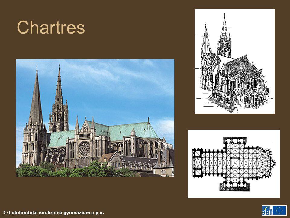 © Letohradské soukromé gymnázium o.p.s. Chartres