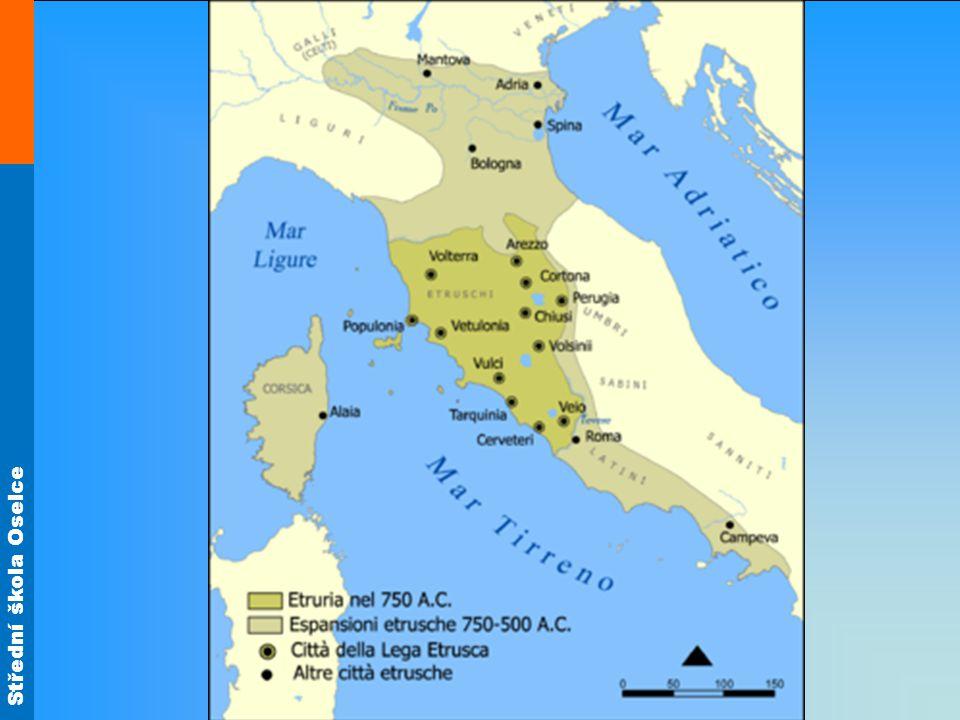 Architektura druhy -chrámy -hrobky -domy -užitkové stavby Etruský vynález – toskánský sloup (prstenec s dórskou hlavicí, nekanelovaný dřík, patka)