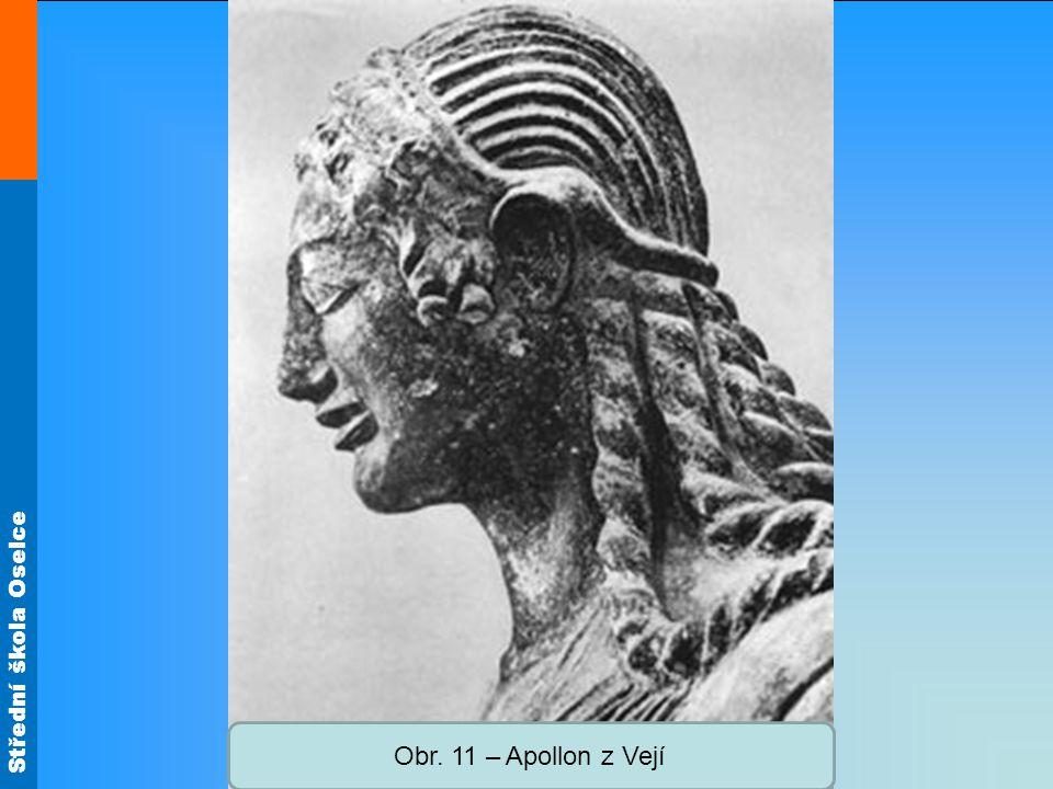 Střední škola Oselce Obr. 11 – Apollon z Vejí