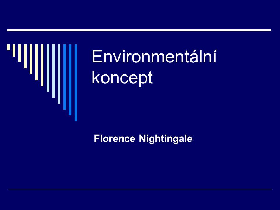 Environmentální koncept Florence Nightingale