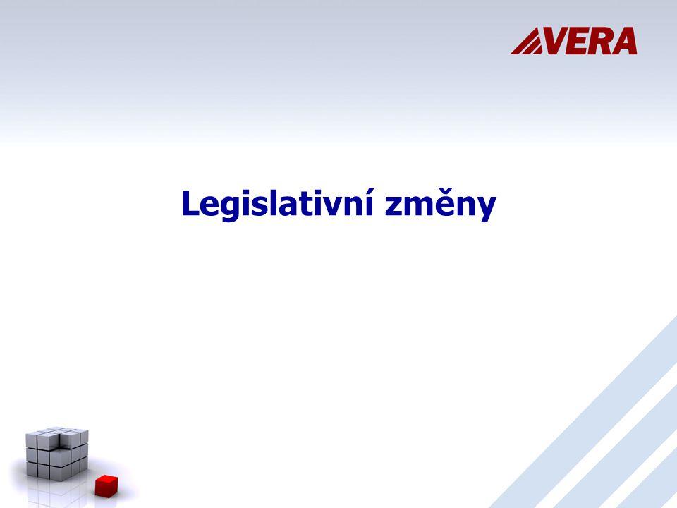 Legislativní změny