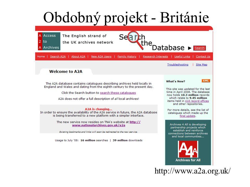 http://www.a2a.org.uk/ Obdobný projekt - Británie