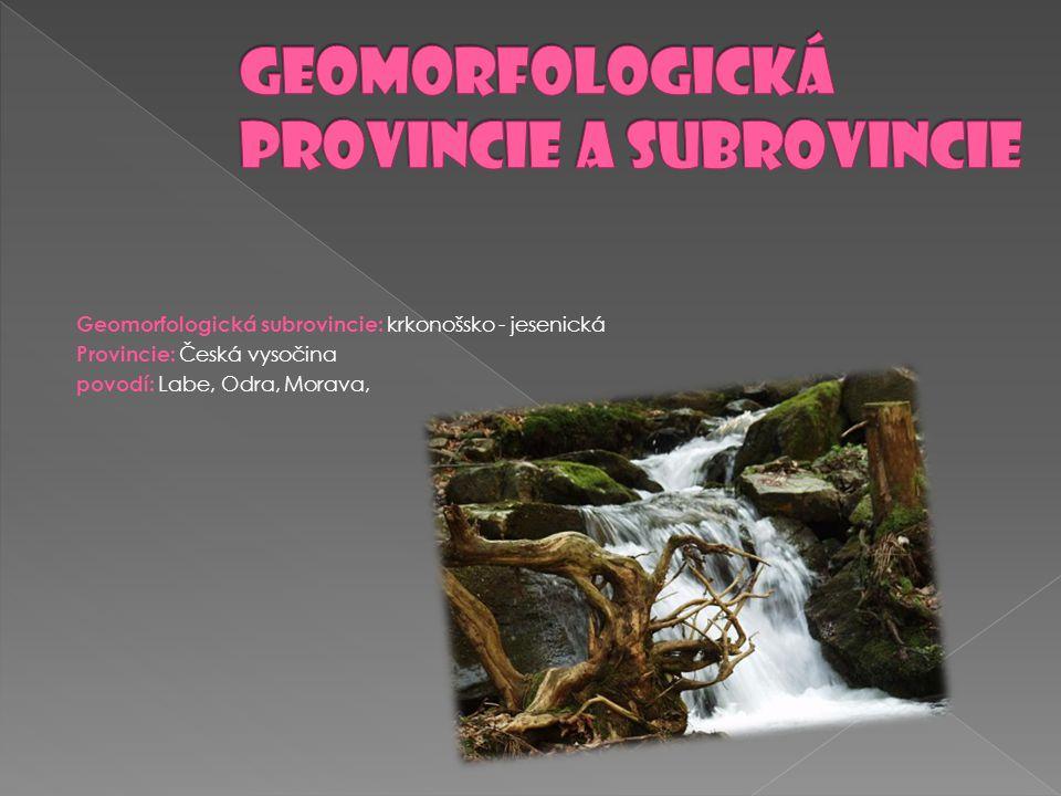 ( Vysoký Jeseník ) je dominantní pohoří Slezska a části severní Moravy, které patří ke Krkonošsko-jesenické subprovincii jako jejich nejvýchodnější část.