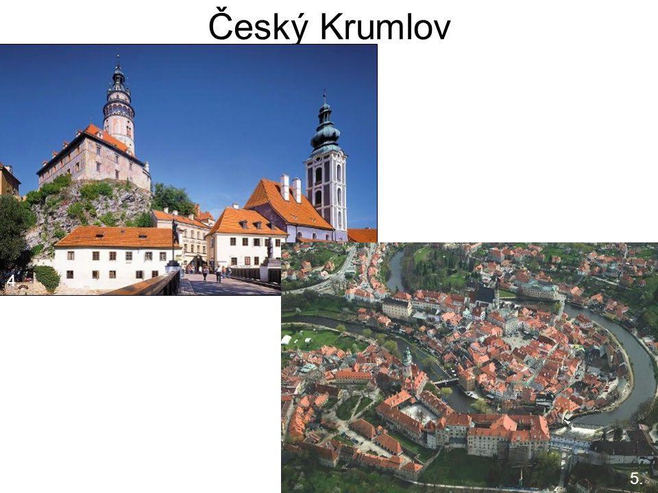 Český Krumlov 5. 4. 5. 4.