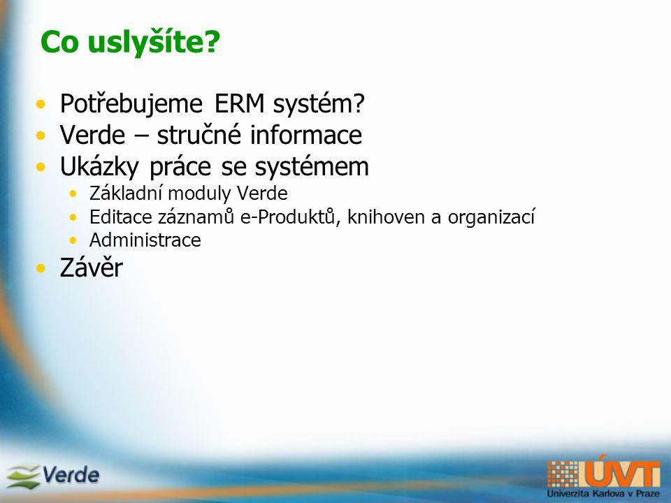 Proč využít systém pro správu e-zdrojů.