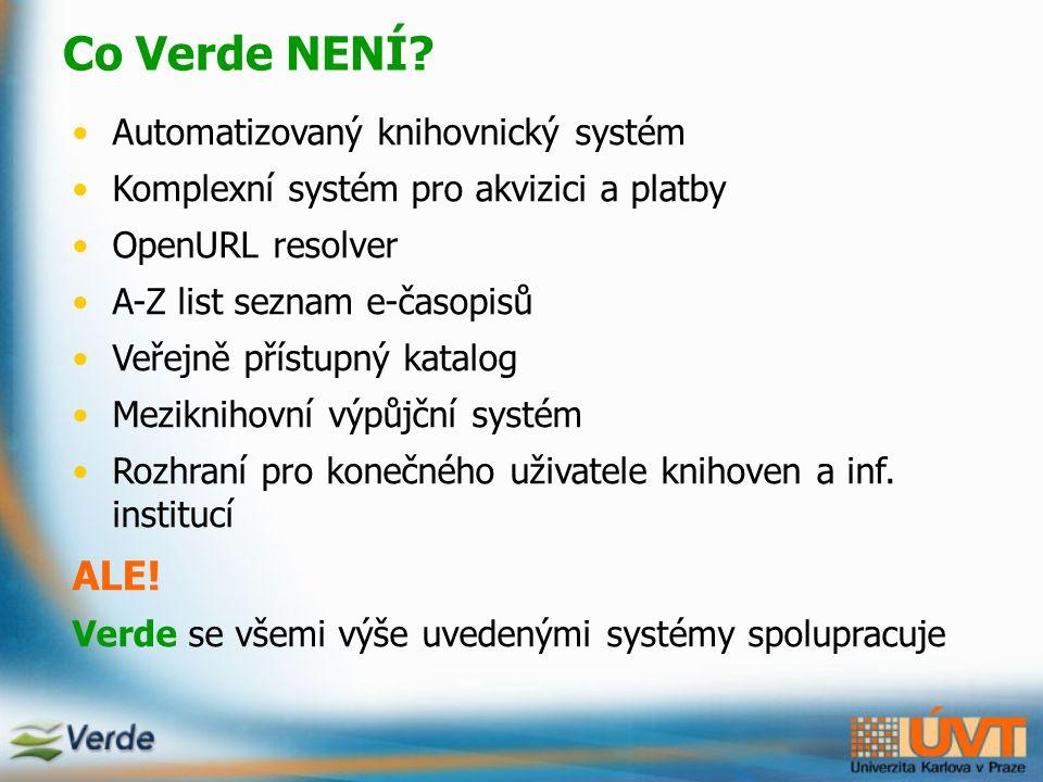 Spolupráce Verde a SFX komunikace Verde a SFX na různých úrovních a)při aktivaci nového e-Produktu (př.