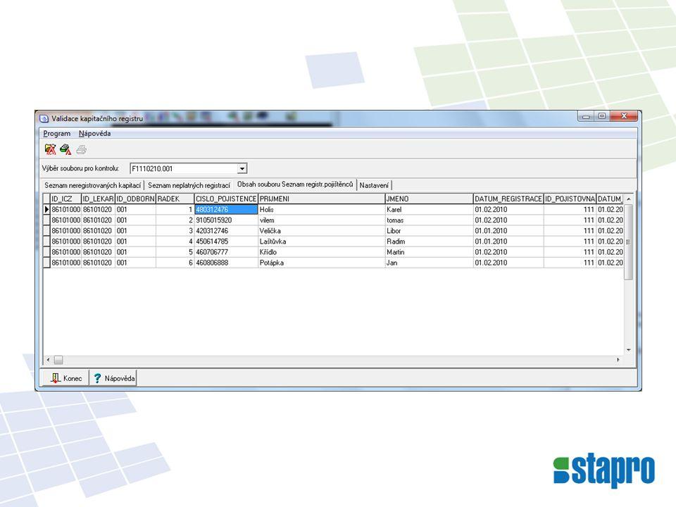 Úpravy DRG: Do vyhledávání dokladů byl přidán sloupec DRG_ZAMEK.