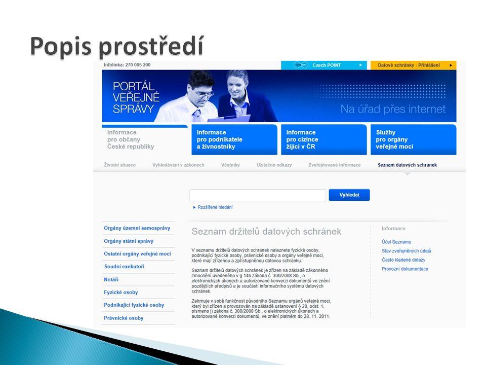 Přístupnost webových stránek Ing. Jaroslav Parma