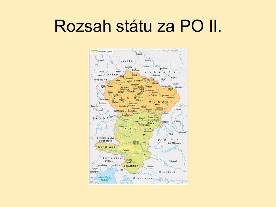 Rozsah státu za PO II.