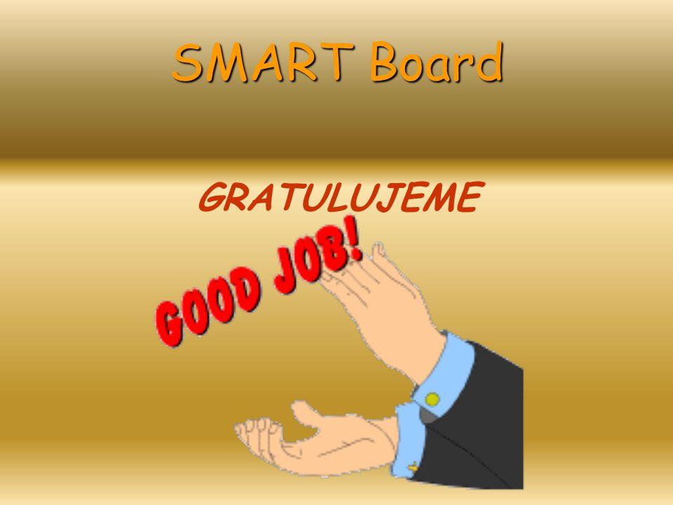SMART Board GRATULUJEME