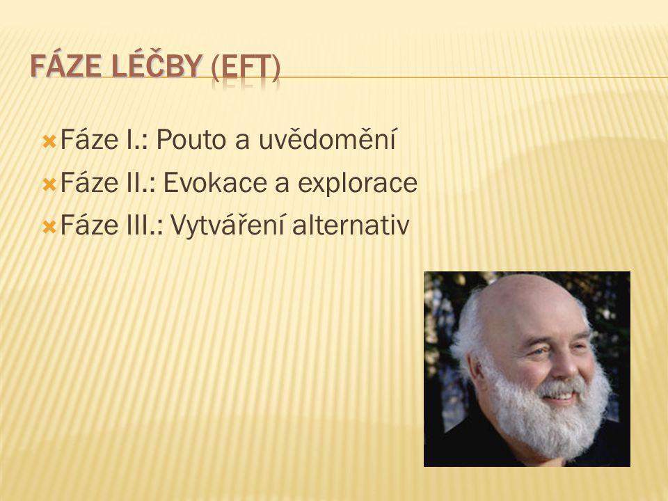  Fáze I.: Pouto a uvědomění  Fáze II.: Evokace a explorace  Fáze III.: Vytváření alternativ