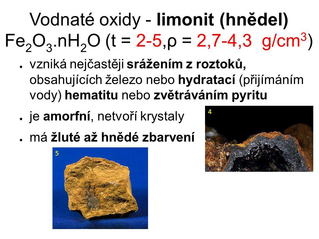  často tvoří tmel v některých pískovcových vrstvách, těm dodává větší odolnost ve srovnání s okolní horninou – vytváří pozitivní reliéf, např.