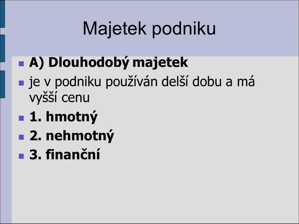 Finanční oběžný majetek 3.