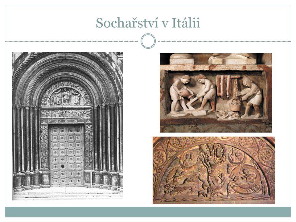 Sochařství v Itálii