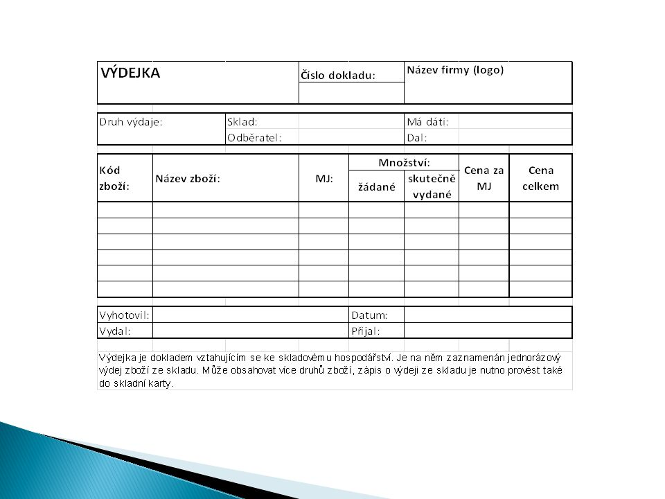  Program umožňuje jednoduše vytvořit objednávku  Program umožňuje snadno a rychle připravit inventurní seznamy a tím možnost fyzické kontroly zboží téměř ihned