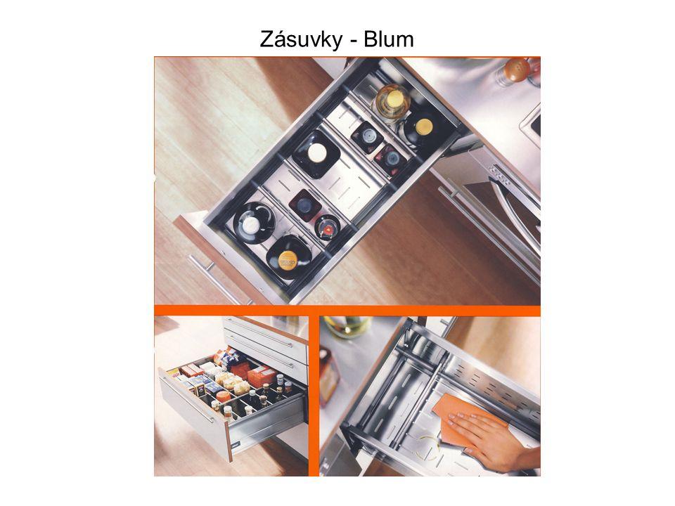 Zásuvky - Blum