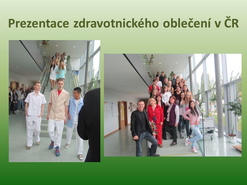 Prezentace zdravotnického oblečení v ČR