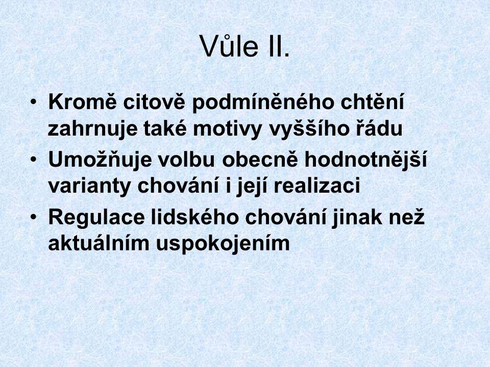 Vůle II.