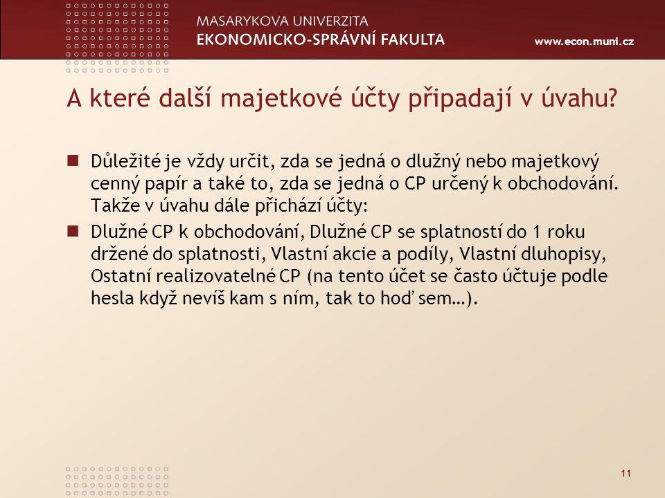 www.econ.muni.cz A které další majetkové účty připadají v úvahu.