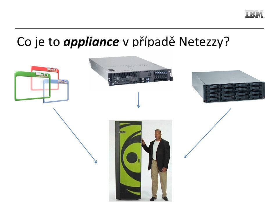 Co je to appliance v případě Netezzy