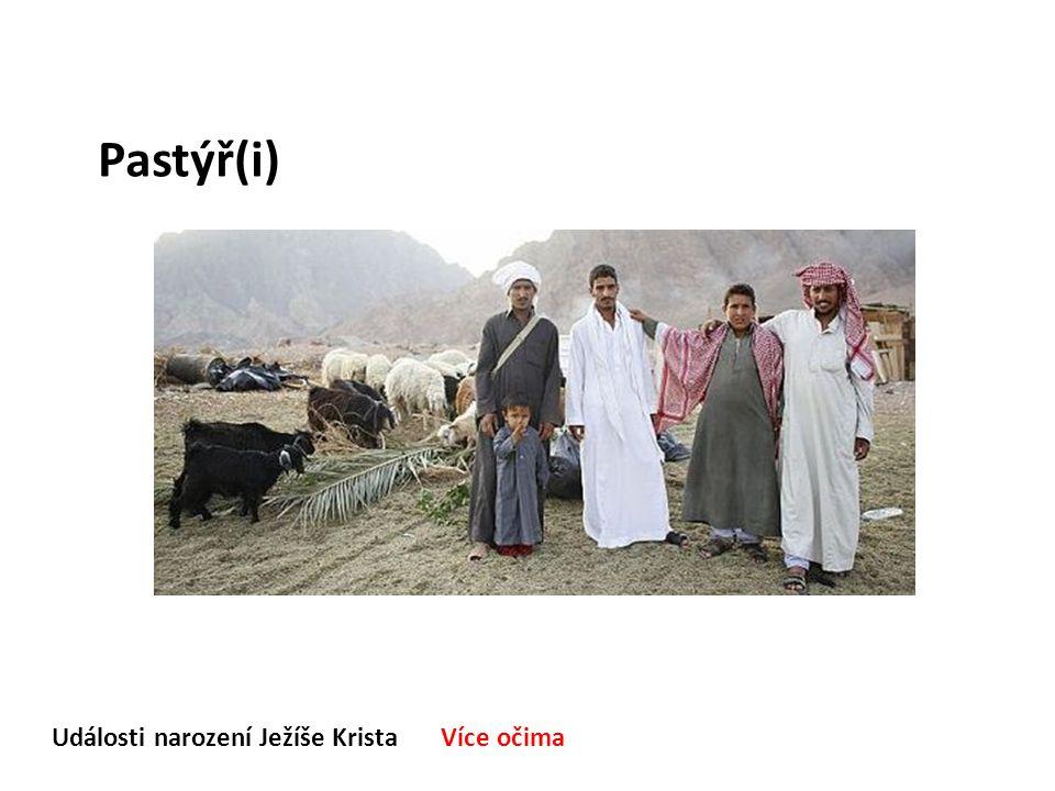 Události narození Ježíše Krista Více očima Pastýř(i)
