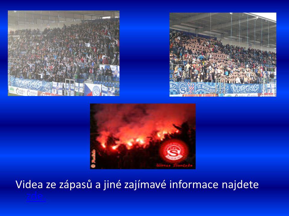 Videa ze zápasů a jiné zajímavé informace najdete zde. zde.