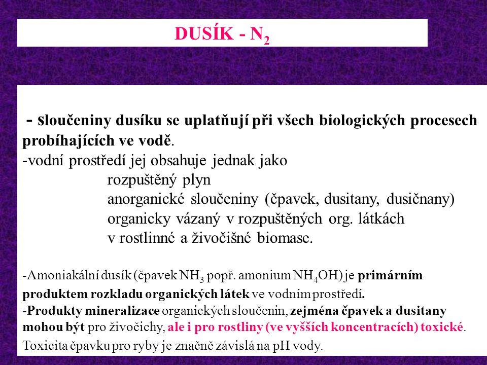 V akvaristice se nepoužívá BSK 5 ( vyjadřuje zatížení vody látkami, které jsou využívány mineralizačními bakteriemi k vlastní výživě) nicméně problema