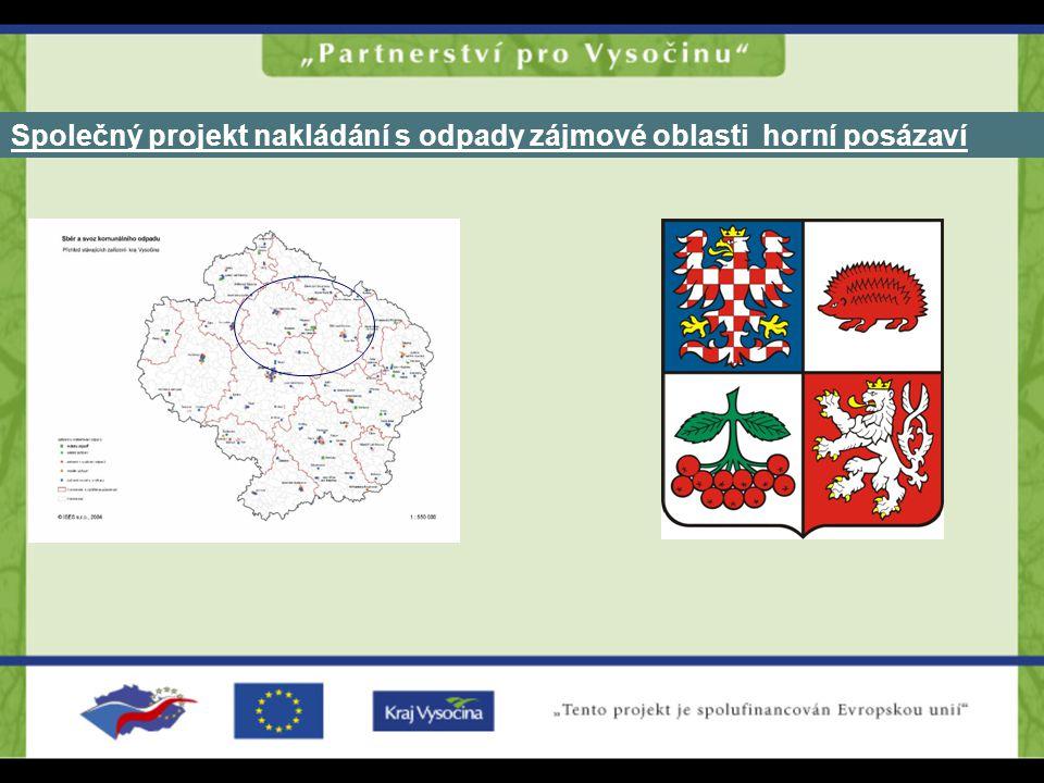 Společný projekt nakládání s odpady zájmové oblasti horní posázaví
