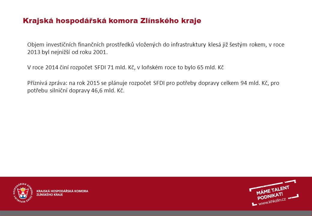 Krajská hospodářská komora Zlínského kraje Při KHK ZK funguje již téměř deset let Dopravní sekce.