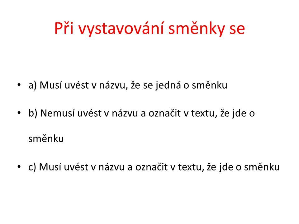SPOŘENÍ – pravidelné ukládání peněz na účet příklad Pan Vašek ukládá na konci každého čtvrtletí 750 Kč na spořící účet.