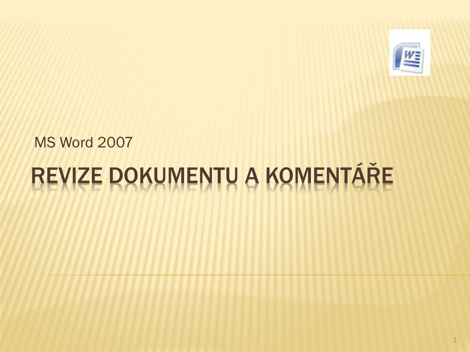 MS Word 2007 1