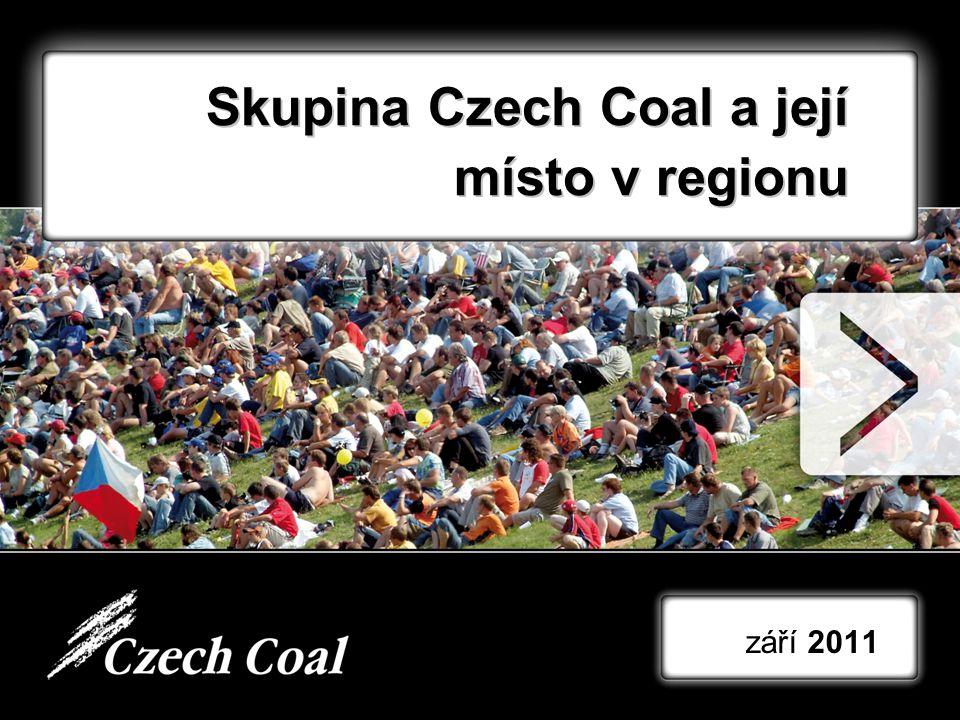 Skupina Czech Coal a její místo v regionu září 2011 1