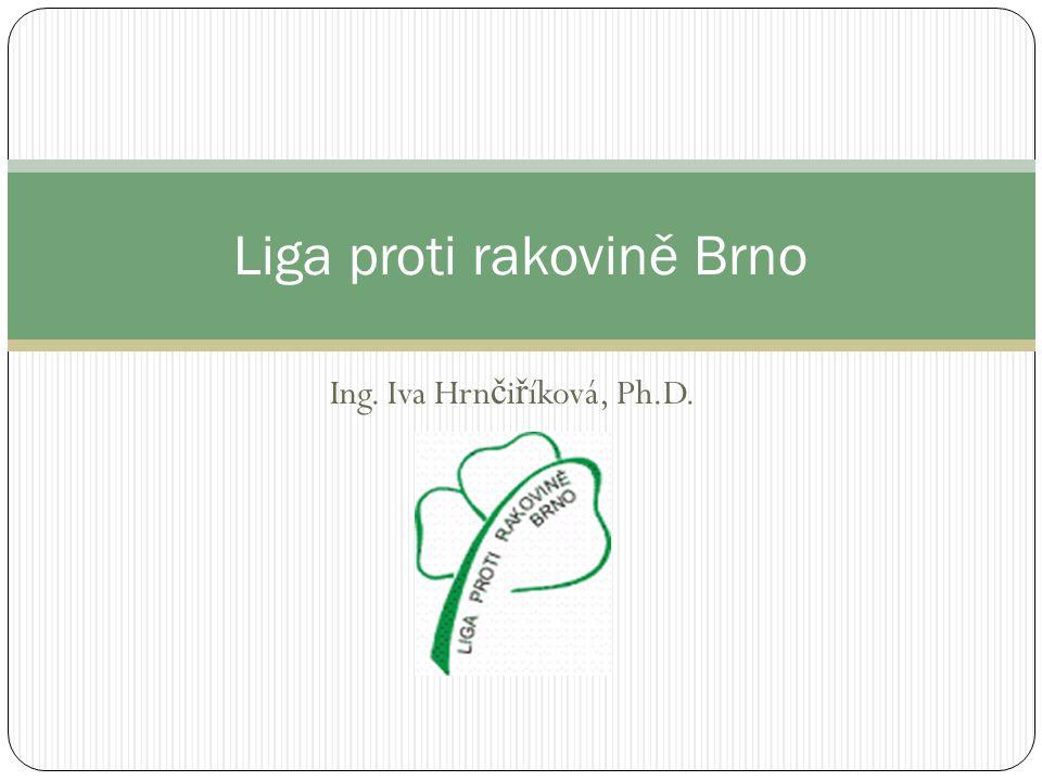 Liga proti rakovině Brno je samostatným právním subjektem, dobrovolným občanským sdružením, jehož cílem je snižování počtu onkologických onemocnění v naší populaci a včasný záchyt nádorového onemocnění.