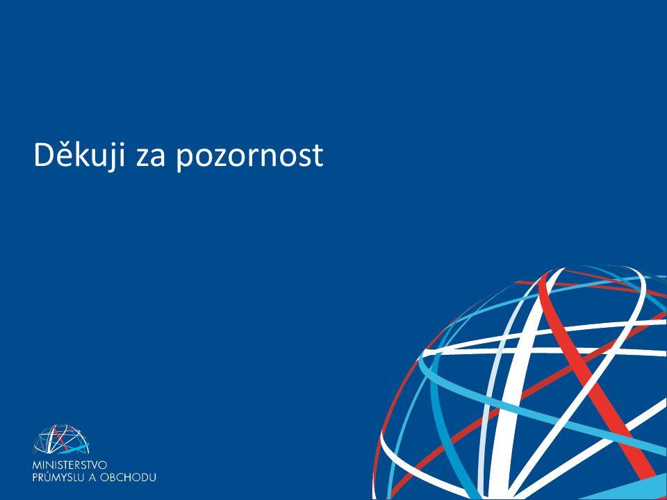 Ministerstvo průmyslu a obchodu pro podporu technického vzdělávání – poslanecký návrh míří do dolní komory Parlamentu ČR Děkuji za pozornost