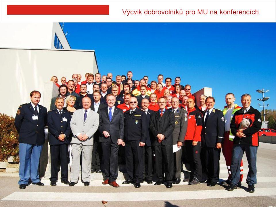 Výcvik dobrovolníků pro MU na konferencích 9