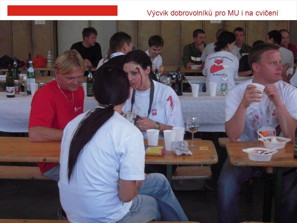 Výcvik dobrovolníků pro MU i na cvičení 10